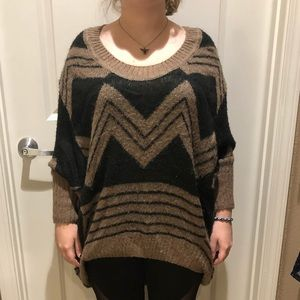 Oversized slouch sweater
